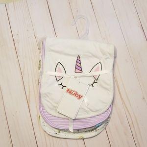 Nuby 4 pack Burp Cloths